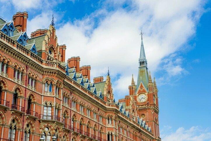 Estação St Pancras em Londres. Foto: iStock, Getty Images