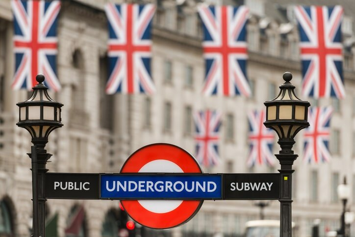 Fotos de Londres - Metrô