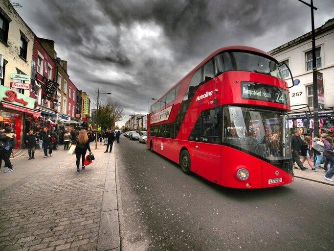 Imagens de Londres - ônibus