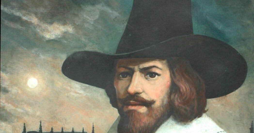 Guy Fawkes - Mapa de Londres