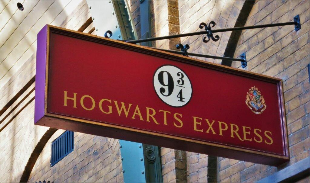 Plataforma 9 ¾ em King's Cross - Harry Potter