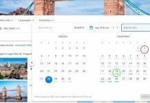 Diferença de preços no Google Flights