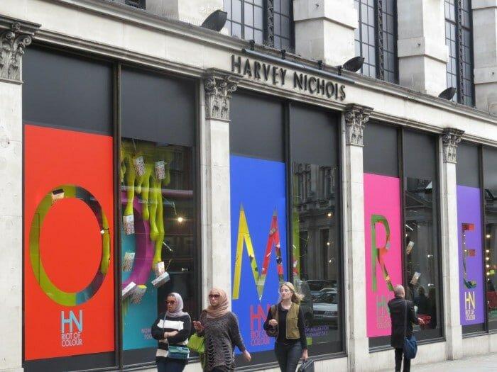 Las 7 tiendas más importantes de Londres