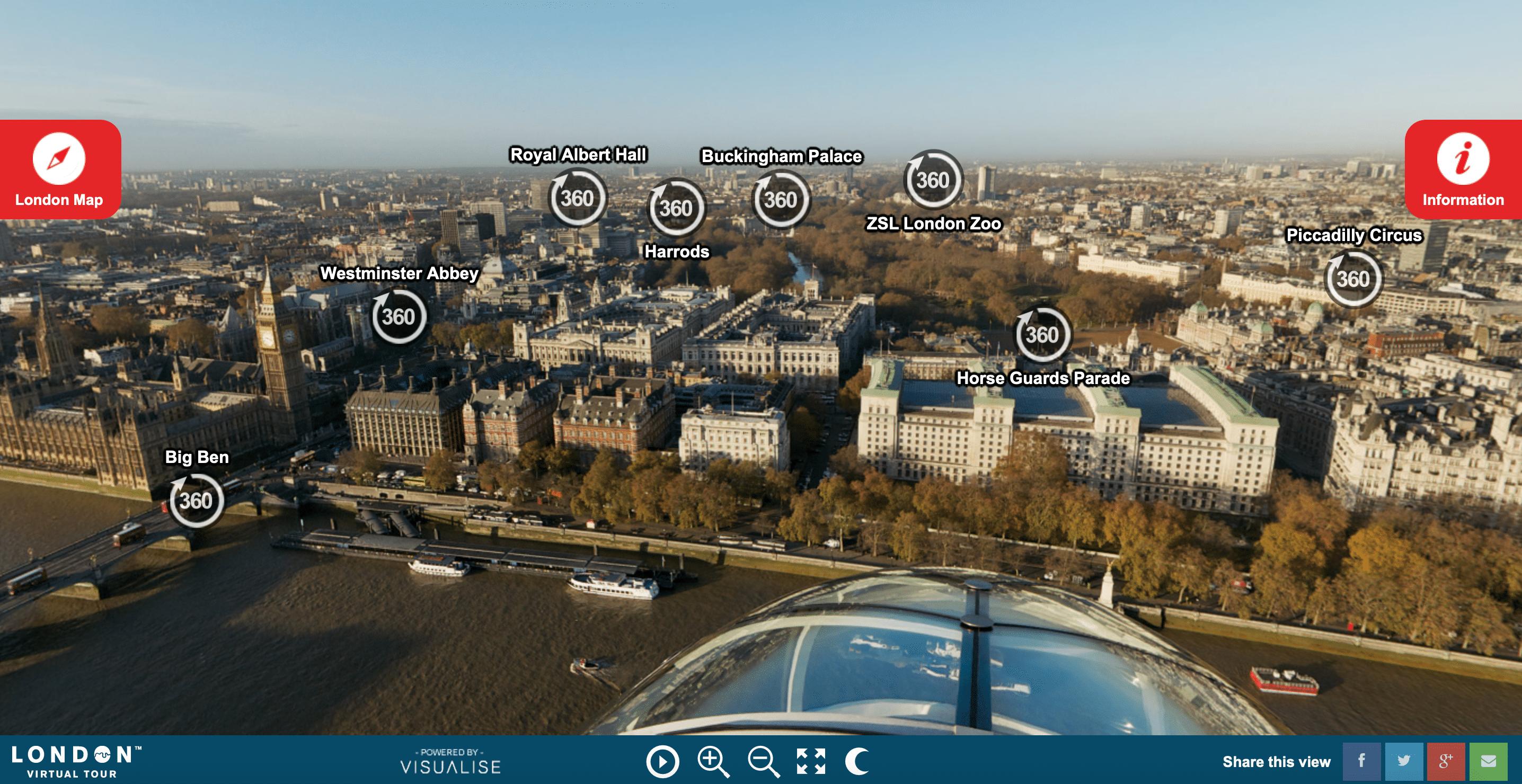 Como visitar Londres sem sair de casa